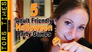 5 Adult Friendly Halloween Party Games!