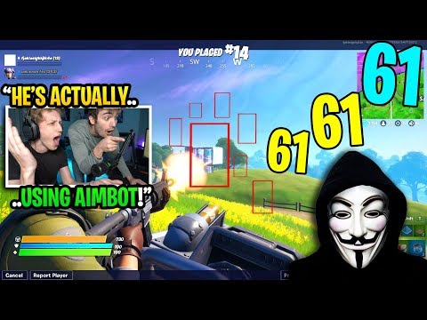 I Died And Spectated HACKERS Using AIMBOT In My Fortnite Game... (exposed)