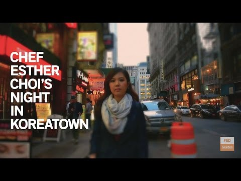 Chef Esther Choi's Night in Koreatown | FED Guides