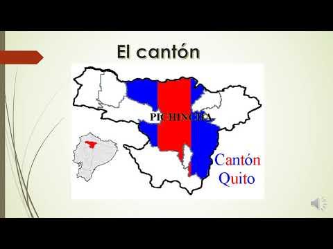 La parroquia urbana y rural y el cantón Quito
