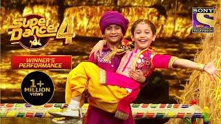 Florina के इस Punjabi Avatar ने Stage पे बिखेरा जादू | Super Dancer | Winner's Performance