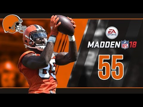 Madden NFL 18 Owner Mode (Cleveland Browns) #55 Divisional P