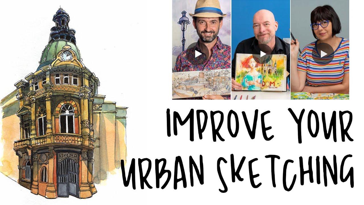 5 Fun Ways To Improve Your Urban Sketching