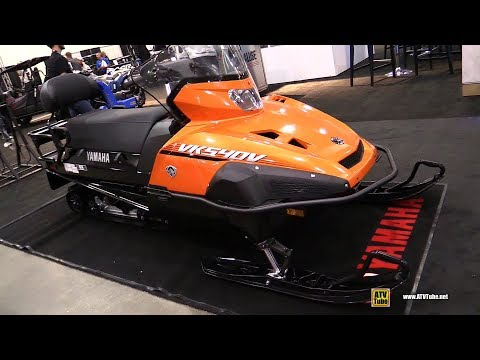 2019 Yamaha VK 540 Sled - Walkaround - 2018 Toronto ATV Show