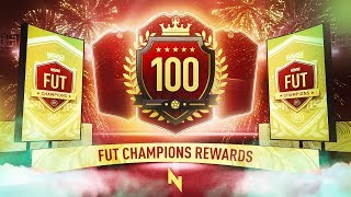 17TH IN THE WORLD! - TOP 100 FUT CHAMPS REWARDS - FIFA 20 Ultimate Team