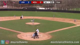 Montclair State Baseball Highlights vs. Lehman - 4/17/18