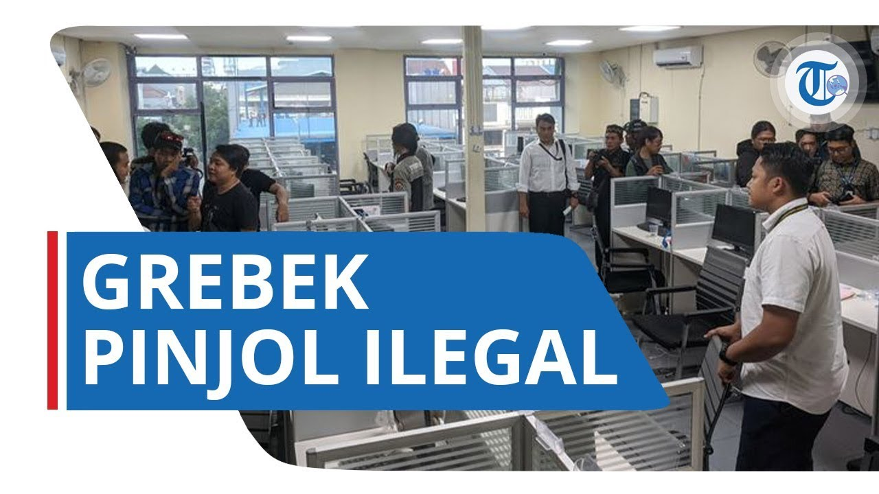 Polisi Grebek Kantor Pinjaman Ilegal Di Penjaringan Jakarta Utara