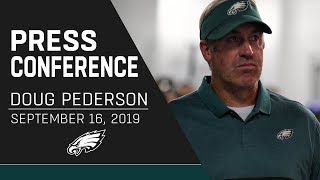 Doug Pederson Praises Team's Toughness in Week 2 | Eagles Press Conference
