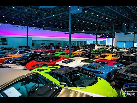 $20 million Supercars secured from Hurricane Irma World's Best Supercars at Prestige Imports Miami