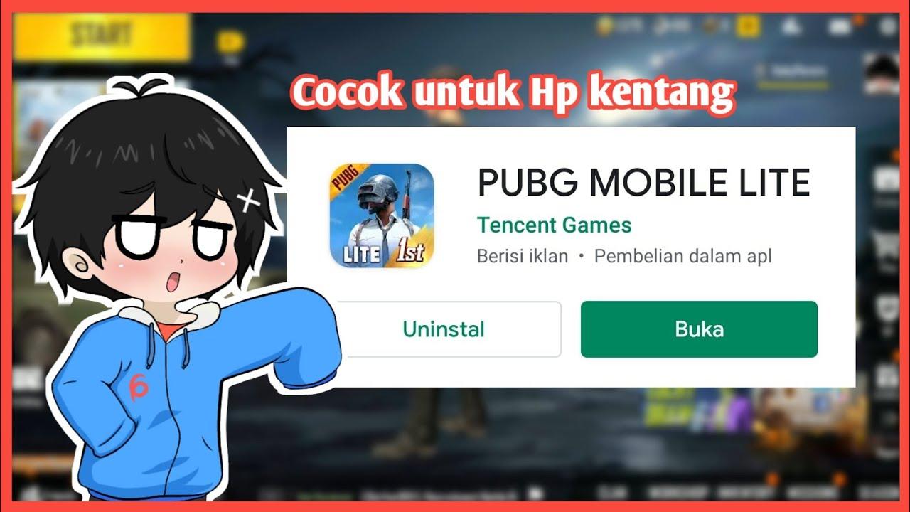 Gaming gabut | Main PUBG mobile lite di HP Kentang