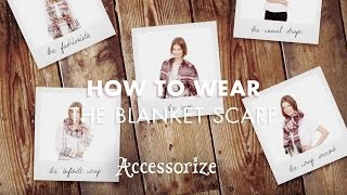 How to wear the AW14 Blanket Scarf Thumbnail