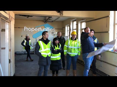 Commercial to Residential Conversion - A Tour Around - Miles Bulloch at Propertunities [Video 2]