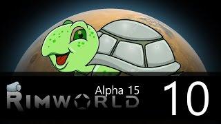 Rimworld - Alpha 15 - Lone Survivor Challenge - Episode 10 - Planning