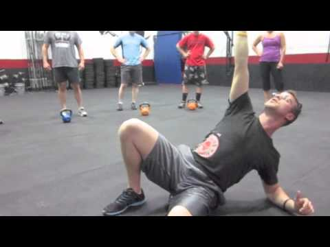 Albany, NY CrossFit Dean coaches the TGU