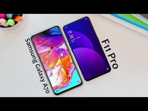 Samsung Galaxy A70    VS   F11 Pro     Quick Comparison - 2019