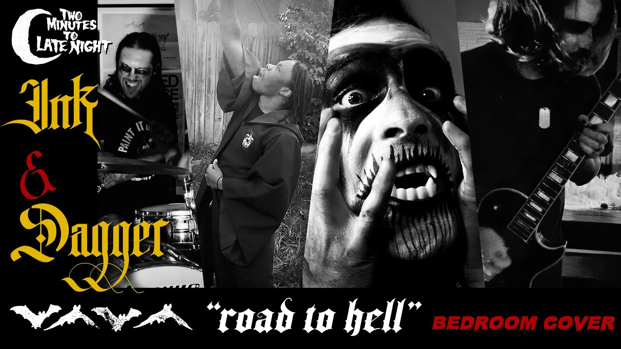 """Ink & Dagger """"Road to Hell"""" BEDROOM COVER"""