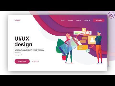 Website UI Design Tutorial | Learn UI/UX Designing In Affinity Designer | Bee graphics studio | #2 thumbnail