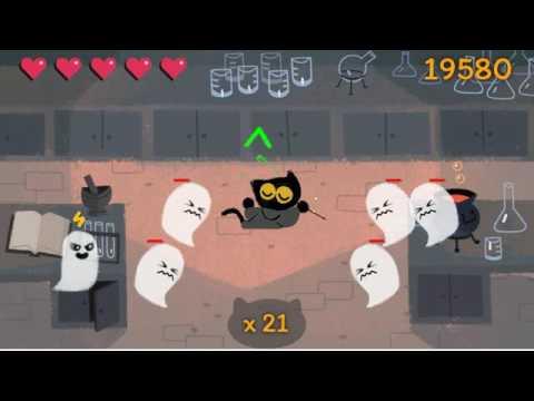 Google Halloween Game 2016 - YouTube
