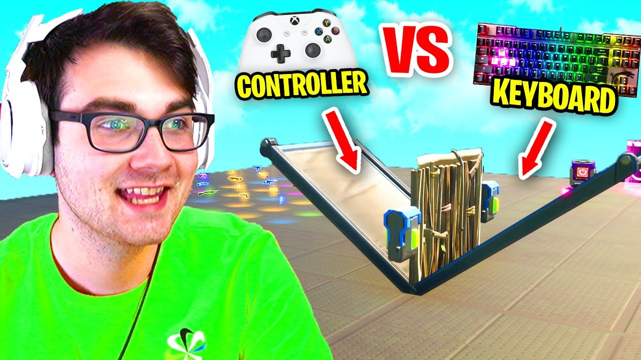 Download I Hosted a 1v1 Tournament with CONTROLLER vs KEYBOARD Players in Fortnite (my best tournament yet)