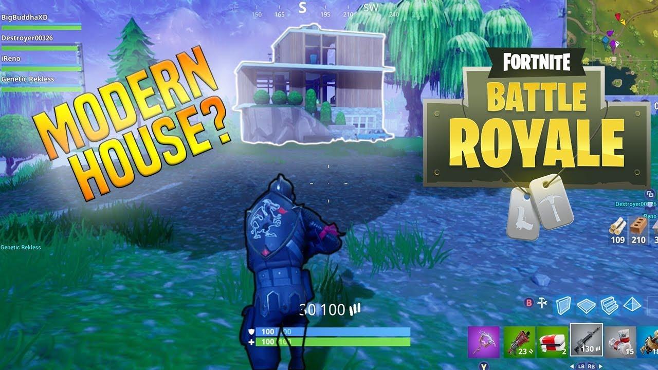 Modern house fortnite battle royale 14