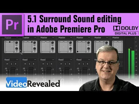 5.1 Surround Sound editing in Adobe Premiere Pro