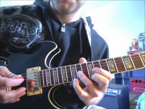 Guns N' Roses - Sweet Child O Mine (Intro Lesson) + Backing Track In Standard Tuning! 100% Accurate!