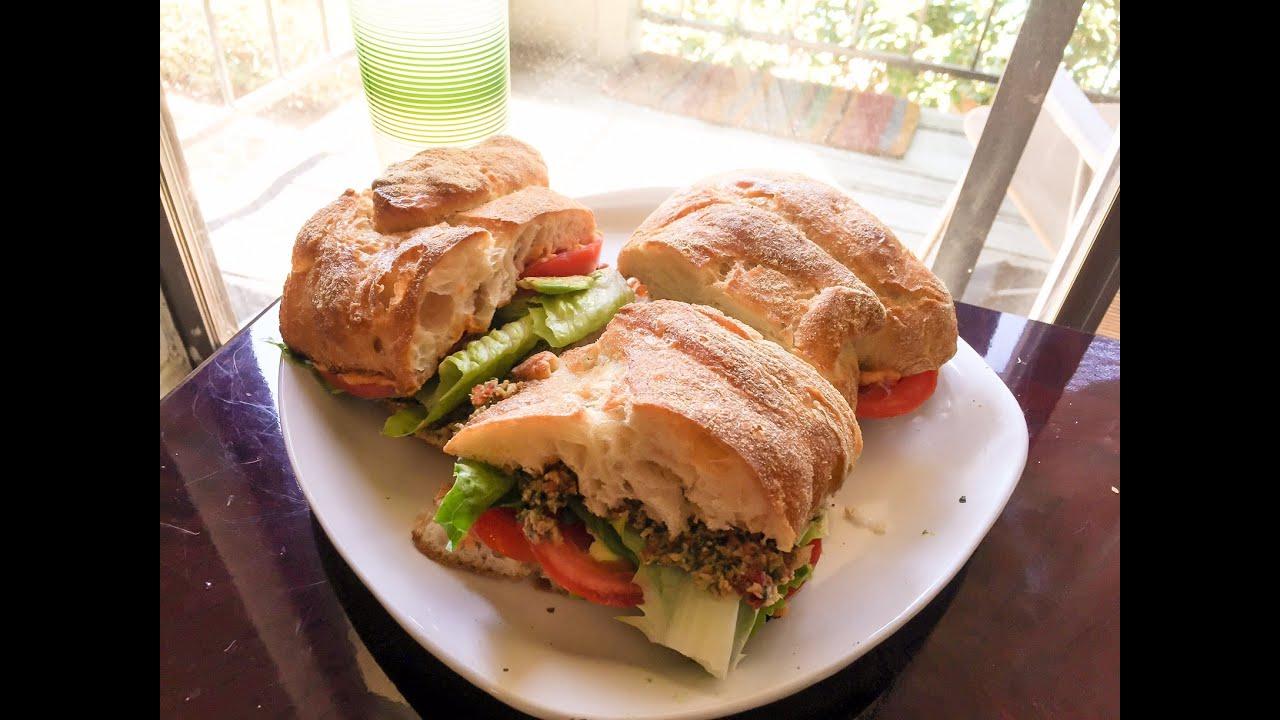 Sandwich vegano gourmet youtube for Cocina vegana gourmet