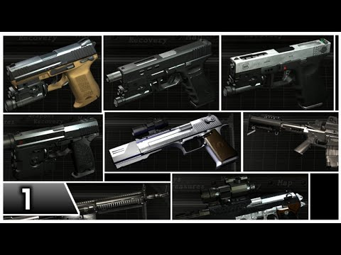 Resident Evil 4 - Weapons Mod Pack by EdgeStylez (Part 1)