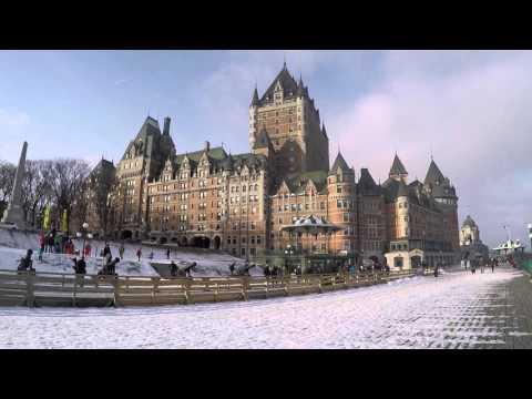Quebec City, Canada - Travel Vlog. 28 Hours in Quebec