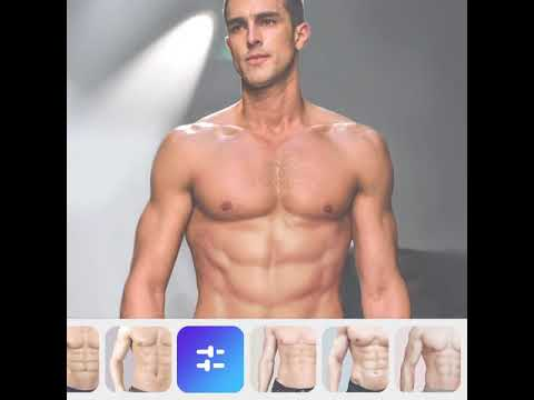 Manly - Photo Editor for Men | Get Eight Pack Six Pack Abs | Bigger Chest, Shoulders, Add Tattoos