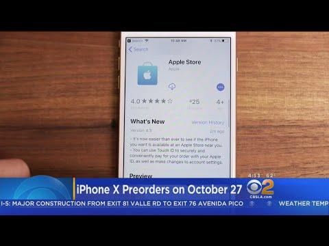 CNET Tech Minute: Pre-Order iPhone X