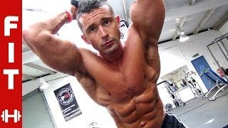 FAST-MOVING FAT-BURNING WORKOUT with James Alexander-Ellis pre-comp for WBFF
