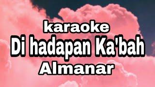 Di hadapan ka'bah karaoke tanpa vokal
