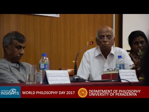 WORLD PHILOSOPHY DAY 2017