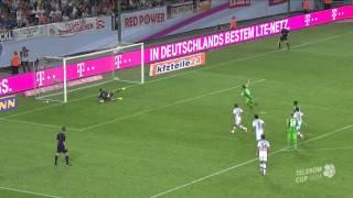 Telekom Cup 2014 - Traumtor von Lewandowski - Bayern schlägt Gladbach - Quelle: Telekom
