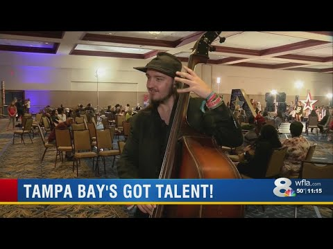 Mychal Maguire - Thousands Auditioned For America's Got Talent In Tampa