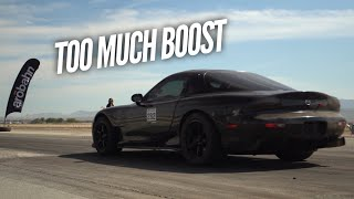 Too much POWER! 3 Rotor Half Mile burnouts in every gear