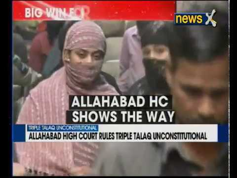'Triple talaq' unconstitutional: Allahabad High Court