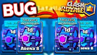 BUG to remove the sand from the CHESTS of CLASH ROYALE! CLASH ROYALE CURIOSITIES!