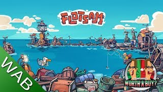 Flotsam Review (early access) - City Builder on the Ocean. (Video Game Video Review)