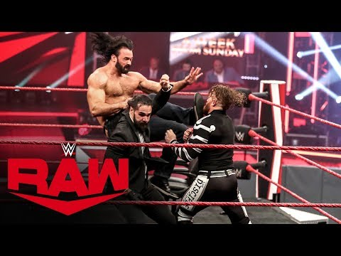 Drew McIntyre and Seth Rollins brawl in wild contract signing: Raw, April 27, 2020