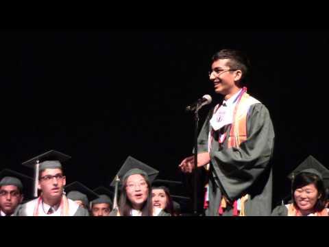 The Science Academy of South Texas Graduation 2015- Andy Kim & Mashad Arora