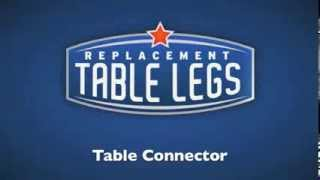 Table Connector - Replacementtablelegs.com