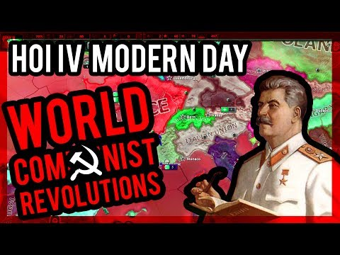 HOI IV - SPAWNING COMMUNIST CIVIL WARS ACROSS THE WORLD |