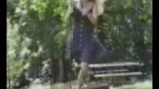 One Legged girl plays