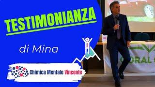 Testimonianza Audio di Mina - VINCERE DEPRESSIONE, ATTACCHI DI PANICO E ANSIA