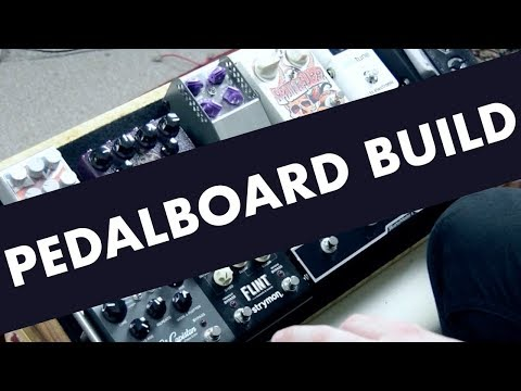 More Than...Pedalboard Build