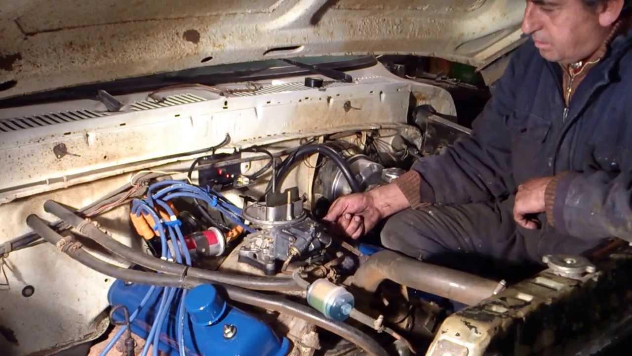 Carburando El V8 Luego De Colocar El Encendido Electronico
