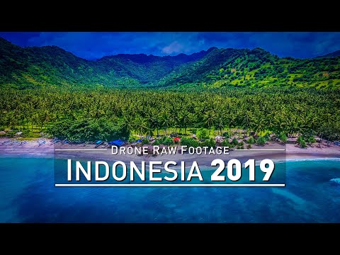 【4K】Drone RAW Footage | INDONESIA 2019 ..:: Bali :: Gili Air :: Lombok | UltraHD Stock Video