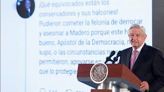 Proyectos estratégicos rendirán informes semanales. Conferencia presidente AMLO